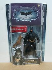 "The Dark Knight Batman Begins 6"" Action Figure With Crime Scene Evidence MATTEL"