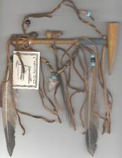 NAVAJO AMERICAN INDIAN FIRST NATIONS ANTLER PEACE PIPE