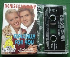 Denise van Outen & Johnny Vaughan Especially For You Cassette Tape Single TESTED