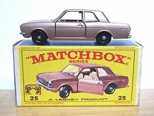 Matchbox Lesney No.25d Ford Cortina Mk.2 In Type 'E4' Box (CODE 1, MINT!!)
