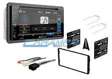 "NEW SOUNDSTREAM 6.2"" BLUETOOTH CAR STEREO RADIO & SMARTPHONE INTG WITH DASH KIT"