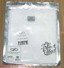 INFINITE EFFECT 2015 2ND WORLD TOUR OFFICIAL GOODS WHITE T-SHIRT NEW