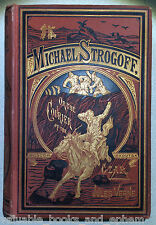 Jules Verne First Edition 1877 Michael Strogoff RARE Russia Czar Moscow Bright