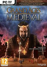 GRAND AGES MEDIEVAL PC-DVD NEW SEALED