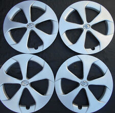 "SET OF 15"" TOYOTA PRIUS 2012-2015 SILVER HUBCAPS WHEEL COVER RIM COVER 570-61167"