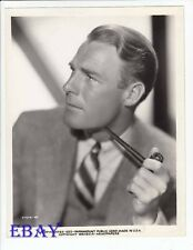 Randolph Scott sexy w/pipe VINTAGE Photo circa 1952