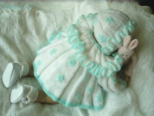 """""""LAZY-DAISY"""" Easy Knitting Pattern for Baby 0-3mth or Reborn Doll.  #19"""