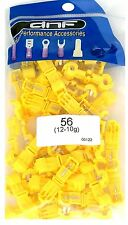 50 PACK YELLOW 12-10 GAUGE T-TAPS QUICK SPLICE ELECTRICAL TERMINALS WIRING