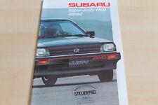 113056) Subaru Justy 1200 4WD Prospekt 198?