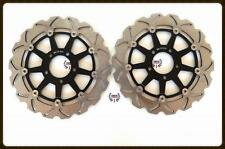 Front Brake Disc Rotors Set For Suzuki Hayabusa 1300 TL1000R TL1000S Wave Rotors