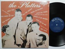 THE PLATTERS LP Self Titled VG++ Doo Wop REISSUE Mono SHRINK WRAP sm854