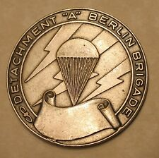 Detachment A Berlin Brigade Special Forces Army Challenge Coin