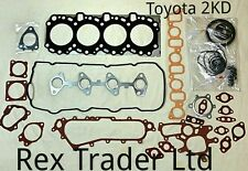 Toyota 2KD Gasket Kit Complete with metal sheet gasket.