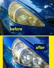 HEADLIGHT CLEANER, LENS POLISH , CLEAR YELLOW COLOR super clean cream 5g