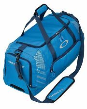 "Oakley 85L Large Sport 28"" Blue Duffle Bag Made For Travel Or The Gym - New"