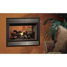 "Superior 35"" Merit Plus DV Gas Fireplace, Top/Rear, See Through, Millivolt"