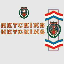 Hetchins Bicycle Frame Stickers - Decals - Transfers  n.2