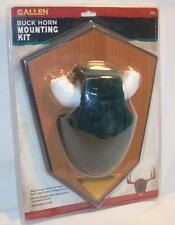 Allen Deer Buck Horn Antler Mounting Kit 562 Trophy Taxidermy Green Skull Cover