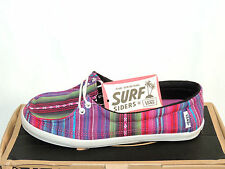 VANS RATA LO (SURFSIDERS RANGE) MEXICAN BLANKET TEXTILE PUMPS UK 4. EU36.5. BNIB