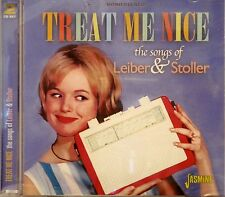 TREAT ME NICE 'The Songs of LIEBER & STOLLER' - 2CD Set on Jasmine