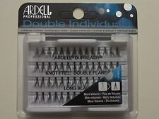 (LOT OF 3) Ardell Duralash Knot-Free DOUBLE Flares LONG Individual Flairs