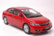 Honda Civic 8th generation car model in scale 1:18 red