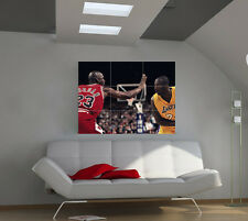 "Michael Jordan Huge Art Giant Poster Wall Print 39""x57"" px41"