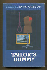 TAILOR'S DUMMY by Irving Weinman - 1986 1st Ed in DJ, Author's 1st Mystery Novel