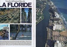 Coupure de presse Clipping 1979 La Floride USA  (7 pages)