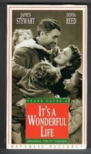 It'S A Wonderful Life new vhs James Stewart Donna Reed Lionel Barrymore