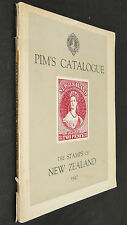 Pim's Catalogue The Stamps Of New Zealand 1947 by C Patterson Vintage