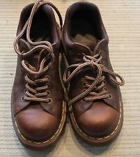DR DOC MARTENS 8312 Mens Casual Sz US 7 UK 6 2 tone Brown Leather Oxford Shoes