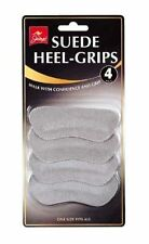 Suede Heel Grips Shoe Pad Comfort Protector One Size Anti Slip Fits All Boot
