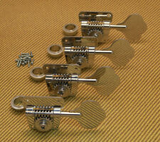 TK-0881-001 70s Style Schaller BMFL Nickel Bass Machine Heads Fender P & Jazz