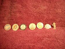 PRECIOUS MOMENTS CELEBRATING 25 YEARS OF SUNRISES AND SUNSETS 2003 CRUISE PINS