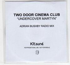 (EC866) Two Door Cinema Club, Undercover Martyn - 2011 DJ CD