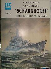 German Battlecruiser Scharnhorst - JSC  #6 1/400.
