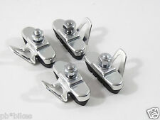 Suntour Suberbe Brake Pads W Alloy Holders Set Of 4 Vintage for Campagnolo NOS