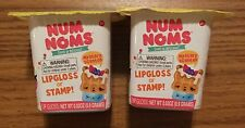 2 Packs of NUM NOMS SERIES 2 MYSTERY PACKS SCENTED LIP GLOSS OR STAMP
