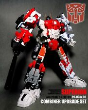 Takara Tomy Transformers Unite Warriors Uw-01 Superion + Perfect Effect Pc-03&05