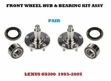 Front Wheel Hub & Bearing and Seal Kit Assy For Lexus GS300 1993-2005  PAIR