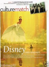 Coupure de Presse Clipping 2010 (3 pages) Disney la Princesse et la Grenouille