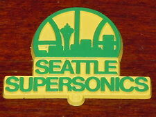 SEATTLE SUPERSONICS Vintage NBA RUBBER Basketball FRIDGE MAGNET Standings Board