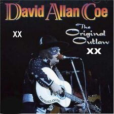 DAVID ALLAN COE - XX THE ORIGINAL OUTLAW XX - ADULT CD X allen