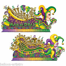 Mardi Gras Carnival Party Scene Setter Add-on Props Decorations - PARADE FLOATS