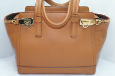 Salvatore Ferragamo Brown Verve Zipper Tote Satchel Women's Handbag Purse NWT