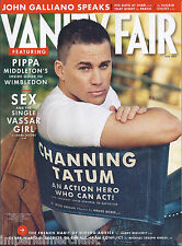 Vanity Fair magazine Channing Tatum Pippa Middleton Wimbledon John Galliano