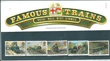 wbc. - GB - PRESENTATION PACK - 1985 - FAMOUS TRAINS