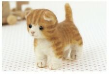 Munchkin - Needle Felting Animal Mascot Kit Wool Cat Kitty Craft Making Patterns