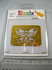 SIZZIX Simple Impressions Cute Butterfly Embossing Folder  **Craft Clear Out**